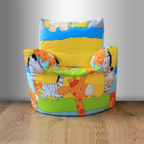 children s beanbag chair animals bedroom