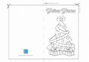 Cuaderno De Tarjetas De Navidad Cuadernillos Para Imprimir