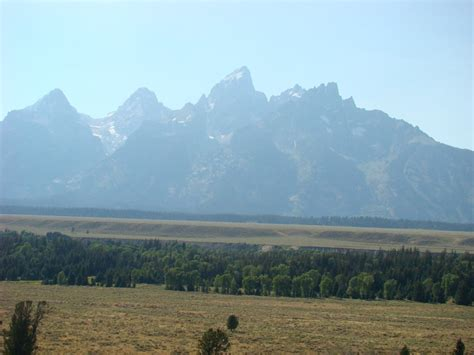 Grand Teton From The Snake River Overlook Grand Teton