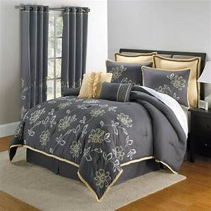 Grey Comforter Sets Full Elegant Bedroom With King Size