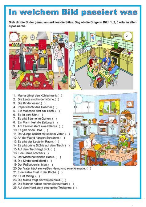 küche und co in schwedt bildbeschreibung in der k 252 che german german grammar