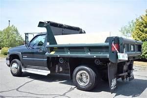 07 Chevrolet Silverado 3500 Dump Truck 4x4 6 0l Vortec Gas