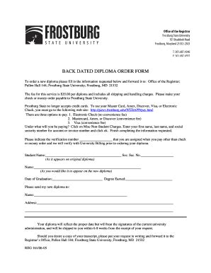 find    frostburg state university
