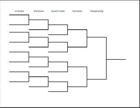 tournament bracket template peerpex