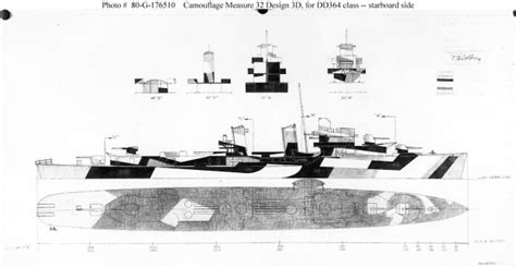 bureau dwg camouflaged ships an illustrated history usni