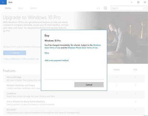 purchase  upgrade  windows  prof edition