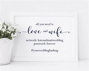 the 25 best wifi password printable ideas on pinterest With wedding website password ideas