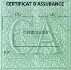 Carte Verte Assurance : certificat assurance voiture en ligne carte verte ~ Gottalentnigeria.com Avis de Voitures