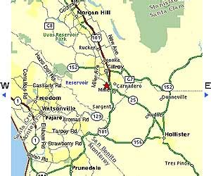 Gavilan College -> Main Campus (Gilroy) Area Maps
