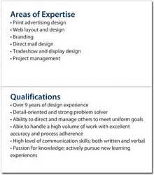 list of professional qualifications for resume mini resume and custom portable pocket resume