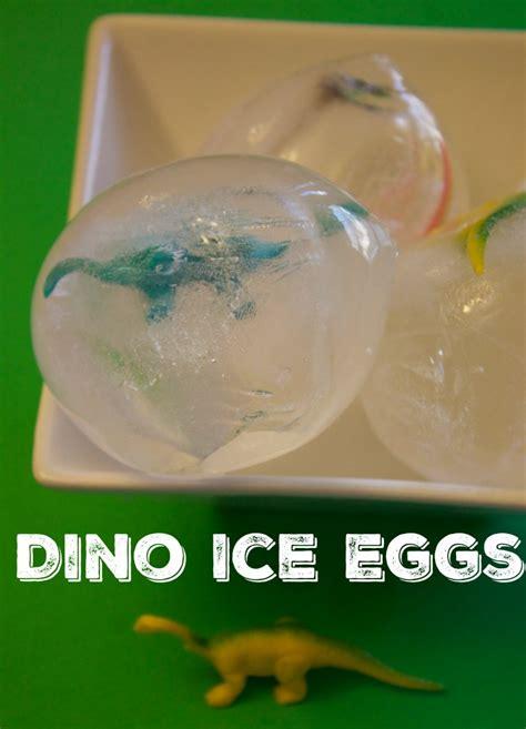 fun dinosaur activity  kids dinosaur ice eggs