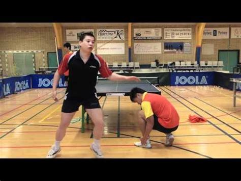 Table Tennis  Chinese Footwork Part 1  Forehand From