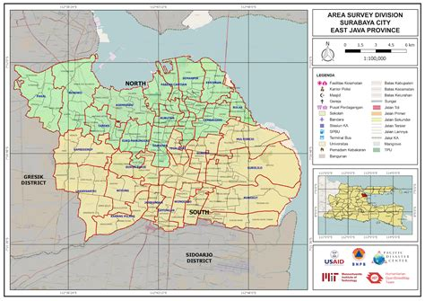 disaster management  surabaya  mapping remotely