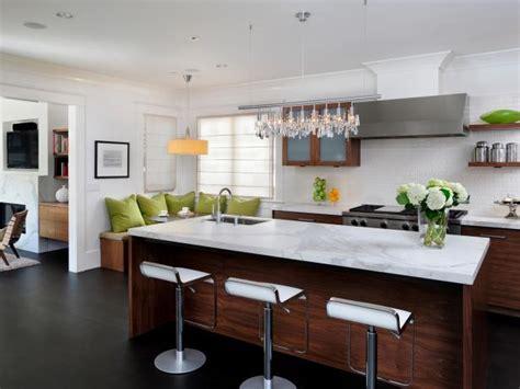 modern kitchen islands pictures ideas tips  hgtv