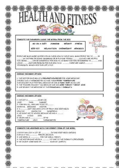 health  fitness  images  kindergarten