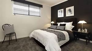 decoration en noir et blanc With chambre gris noir et blanc