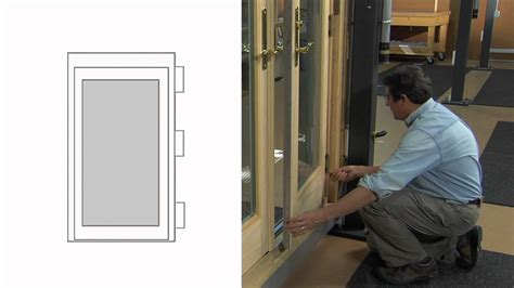 how to adjust a frenchwood inswing patio door made after