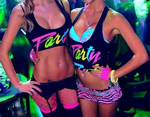 Rave EDC and Neon on Pinterest