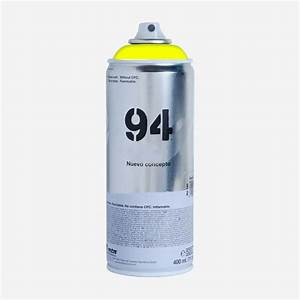 Bombe de peinture montana mtn 94 jaune fluorescent for Bombe de peinture montana 94
