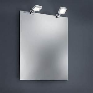Spiegelklemmleuchte Bad Led : led bad spiegelklemmleuchte 2er set 2x 4 watt 2er set wohnlicht ~ Markanthonyermac.com Haus und Dekorationen
