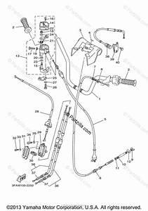 Yamaha Atv 2003 Oem Parts Diagram For Steering Handle