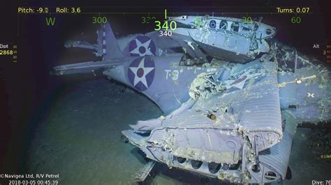 paul  allen expedition discovers  sunken uss