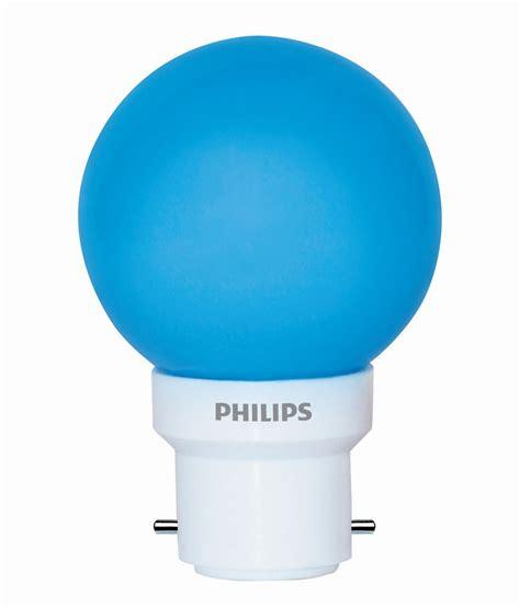 philips led a l philips blue 0 5 watt led light bulb 6 buy