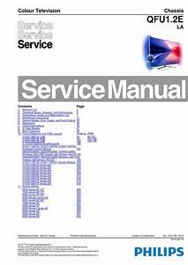 Manual De Servi U00e7o Televisor Philips Modelo 40pfl8008s12