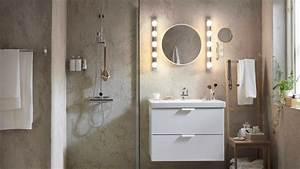 astuces pour bien eclairer son miroir de salle de bains With comment bien éclairer un miroir de salle de bain