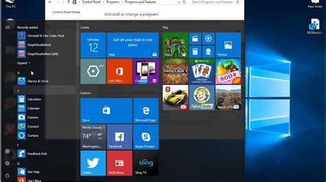 Windows 10 build 14393 anniversary update. Uninstall K-Lite Mega Codec Pack 13 on Windows 10 - YouTube