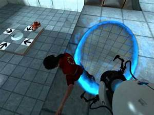 Black Hole Grenade in Portal: First Slice - YouTube