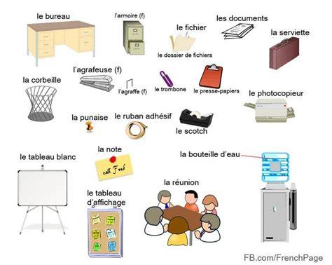 vocabulaire du bureau le français et vous