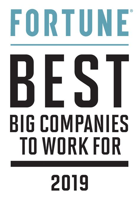 best company to work with 2019 fortune 100 best companies to work for 174