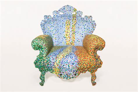Poltrona Di Proust Armchair By Alessandro Mendini For