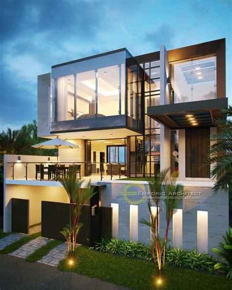 desain rumah unik modern jasa arsitek
