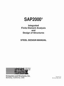 Steel Design Manual