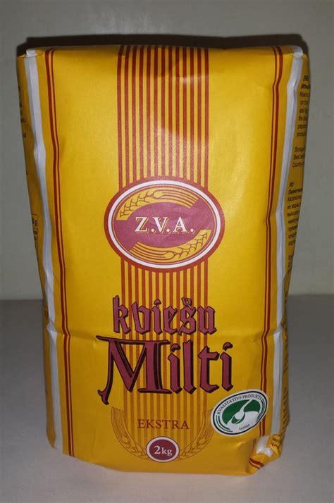 Kviešu Milti ekstra Zelta vārpa 405 tips 2Kg / Milti ...