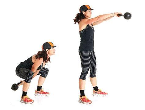 kettlebell crushing killer moves sprints climbs swing hiit training