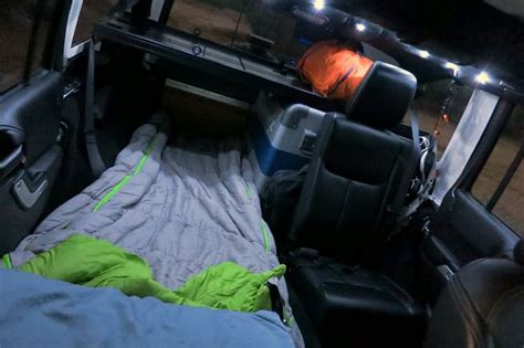 sleeping   jku finally  dialed  offroad