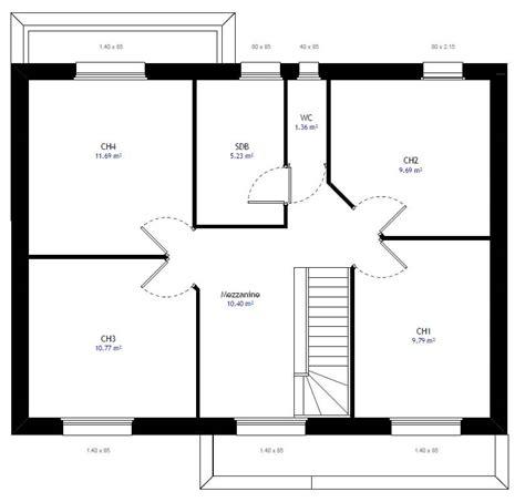 agrandir sa cuisine plan maison individuelle 4 chambres 28 habitat concept