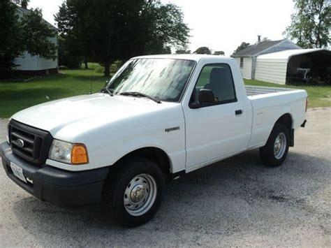find   ford ranger xl standard cab pickup  door