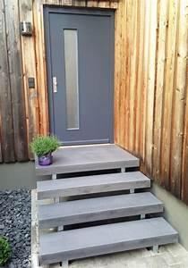 Farbe Für Beton Aussen : die besten 25 hausfassade grau ideen auf pinterest ~ Eleganceandgraceweddings.com Haus und Dekorationen