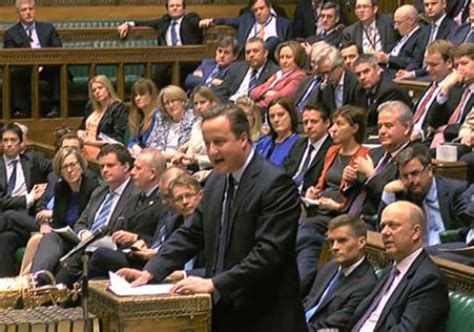 David Cameron Resigns From Parliament