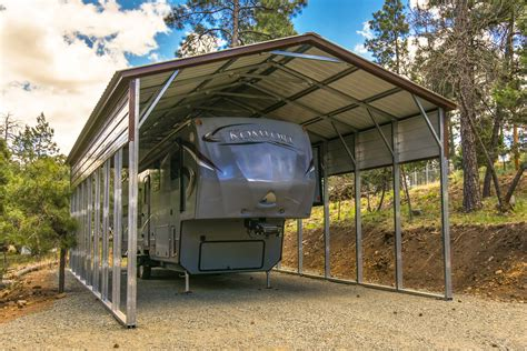 portable metal garage rv covers from eagle carports