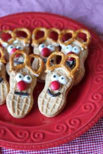 Reindeer Nutter Butter Christmas Cookies