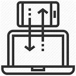 Platform Digital Cross Marketing Icon Sign Measurement