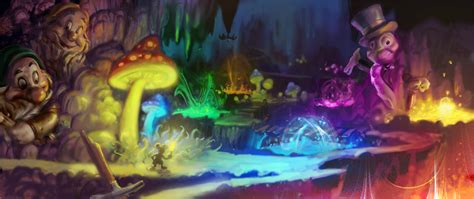 Image Epic Mickey Concept Art 6jpeg Epic Mickey Wiki