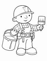 Builder Bob Coloring Printable Cartoon Drawing Colouring Sheets Getdrawings Holy Path Words Builders Printables Construction Painting Coloringfolder Ads Google sketch template