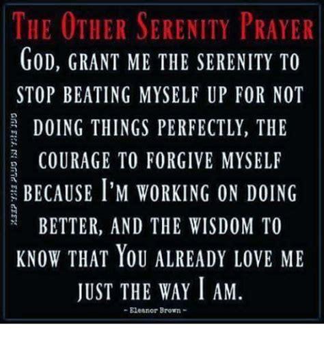 serenity prayer god grant   serenity