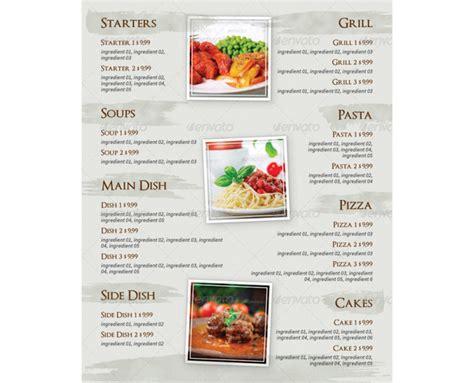 gaststaettengasthaus speisekarte und getraenkekarte